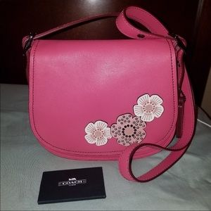 Coach Rose Tea Purse